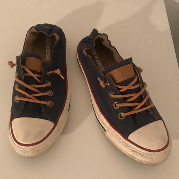 18b02a73f29f Converse Shoes - Converse elastic back - navy blue red